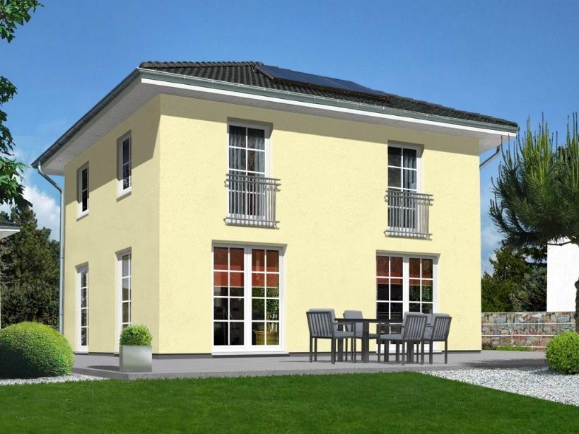 Stadtvilla flair 124 zd wir bauen mit town und country for Modellhaus bauen