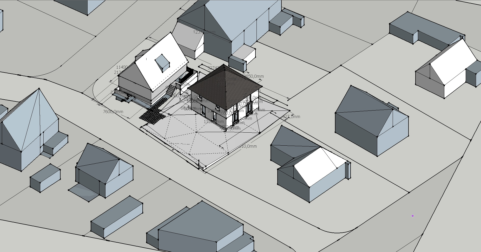 Erdgeschoss wir bauen mit town und country in oberursel for Geschlossener schuhschrank