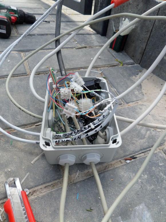 Stromverteiler Briefkasten Knobloch