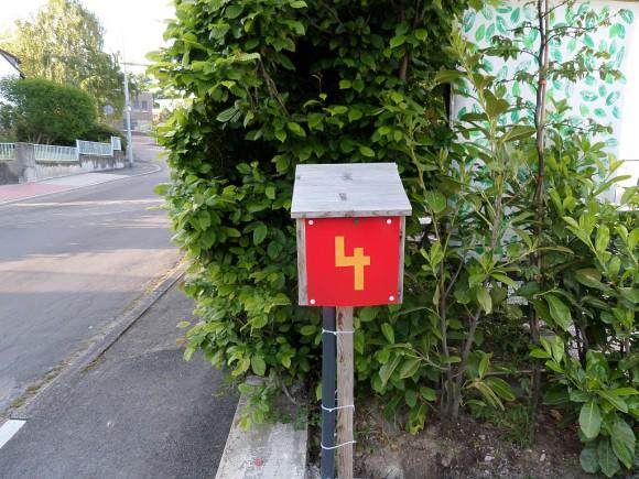 Briefkasten selber gebaut