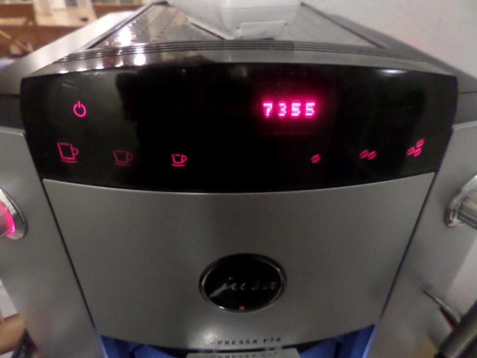 Jura Kaffeevollautomat Impressa F70