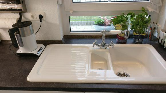 Weißer Wasserkocher Bosch