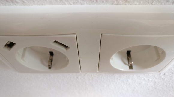 USB Steckdose in Rahen von Busch Jäger